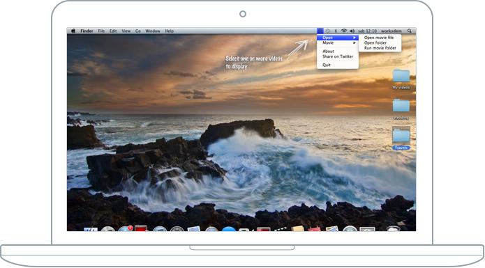 MovieDesktop Mac App